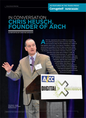 Chris Heusch ARCH Inc. looks back at 25 years in the industry